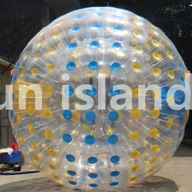 Free Shipping TPU Rolling Ball On Grass Inflatable Bumper Ball/ 2.5m Size Zorb Ball, Inflatable Human Hamster Balls factory customize free shipping dia 3m inflatable light zorbing ball inflatable glow zorb ball shinning inflatable zorb ball