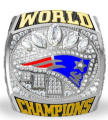 New Arrival 2016 2017 New England Patriots Super Bowl Championship Rings BRADY as fan gifts