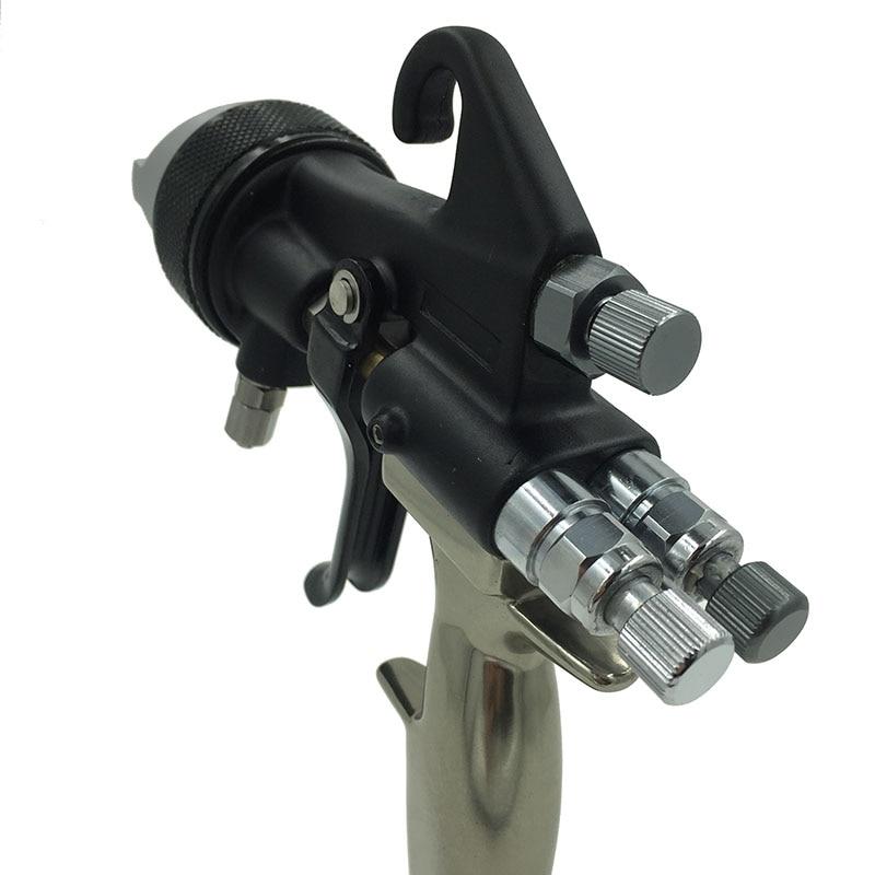 SAT1205 värvipüstol hvlp õhuvahu pihustuspeegel kroomvärv nano - Elektrilised tööriistad - Foto 4