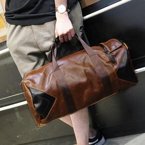 Image 2 - Xiao.P Men Handbag Large Capacity Travel Bag Designer Shoulder Messenger Luggage Bags Good Quality Casual Crossbody Travel Bags