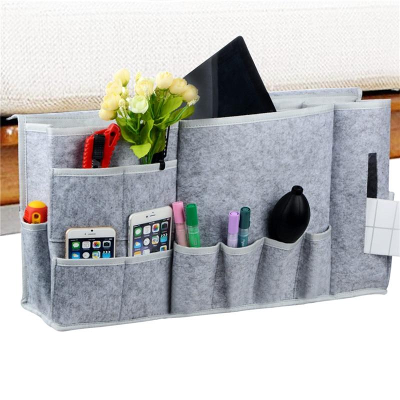 Bedside Caddy Hanging Storage Organizer Magazine Holders Water Bottle Laptop New