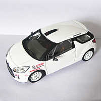 IXO 1 43 Scale White Citroen Metal Alloy Sports Racing Car Models Kids Gifts Collections And