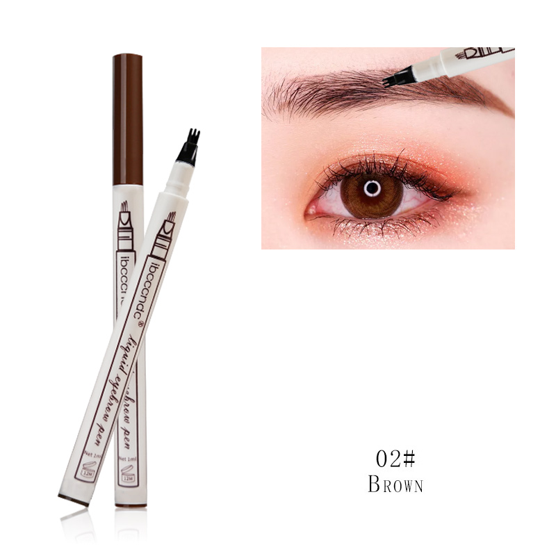 3 Colors Microblading Eyebrow Tattoo Pen Fine Sketch