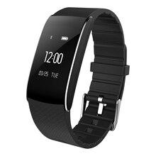 Спорт браслет Bluetooth Smart Браслет для iOS телефона Android Smart часы фитнес-трекер с монитор сердечного ритма шагомер