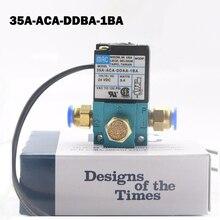 "1/8 ""DC12V 5.4 W Mac 35A Soort Hoge Frequentie Magneetventiel 35A ACA DDBA 1BA voor Dispenser Markering Doseermachine"
