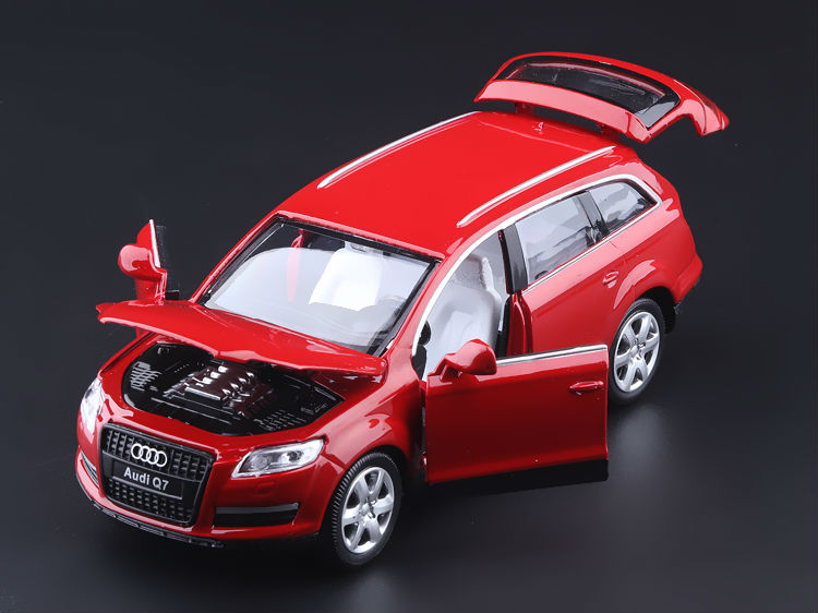High Simulation Exquisite Diecasts & Toy Vehicles: Caipo Car Styling AAudi Q7 Off-Road SUV 1:32 Alloy Diecast Model Toy Car