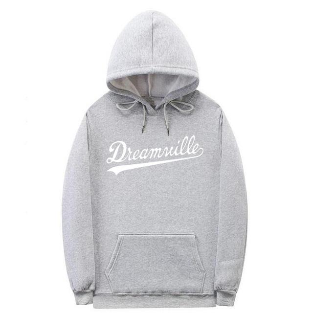 SHISHANGDEYEZI Brand Hip Hop DREAMVILLE Hoodie polerones hombre Fleece Hoodie Winter Pullover xxxtentacion Hoodies Men