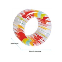 90cm Inflatable Water Wheel Roller Kids Swim Pool Float Roller Ball Water Balloons For Boys and Girls Beach Toys