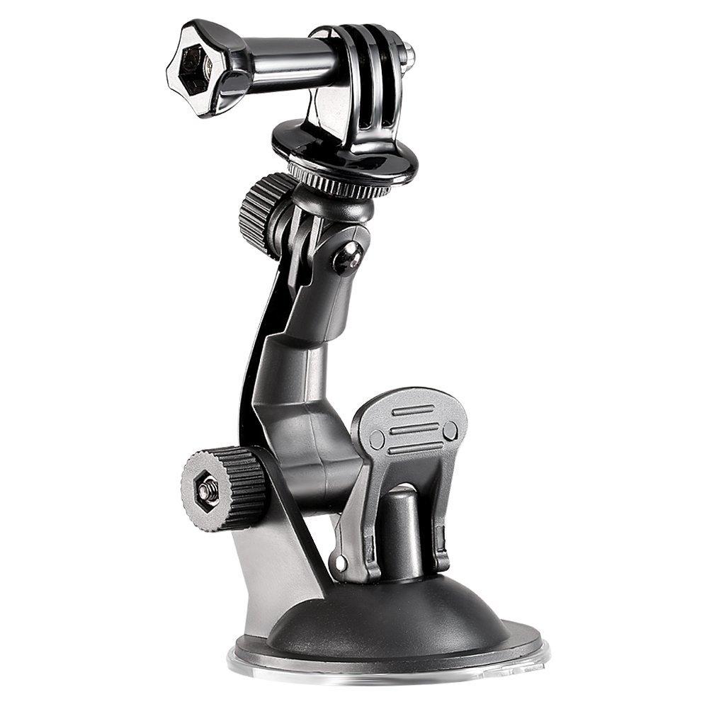 Sports suction mount tripod + installation screw + GoPro hero HD hero 2/3 hero 3/ 4 camera black