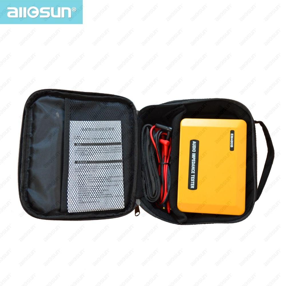 ALL SUN EM480B Probador de impedancia de audio Rangos de prueba - Instrumentos de medición - foto 6