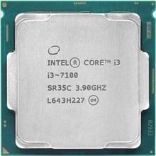 Intel Core i3 7100 series Processor I3 7100 I3-7100 CPU LGA 1151-land FC-LGA 14 nanometers Dual-Core i3-7100