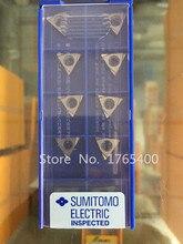 Nowy 10 sztuk Sumitomo wkładki Węglika Aluminium TPGT080202L-W używać do wytaczadła