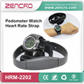 Fitness Heart Rate Monitor Watch Pedometer with Chest Belt