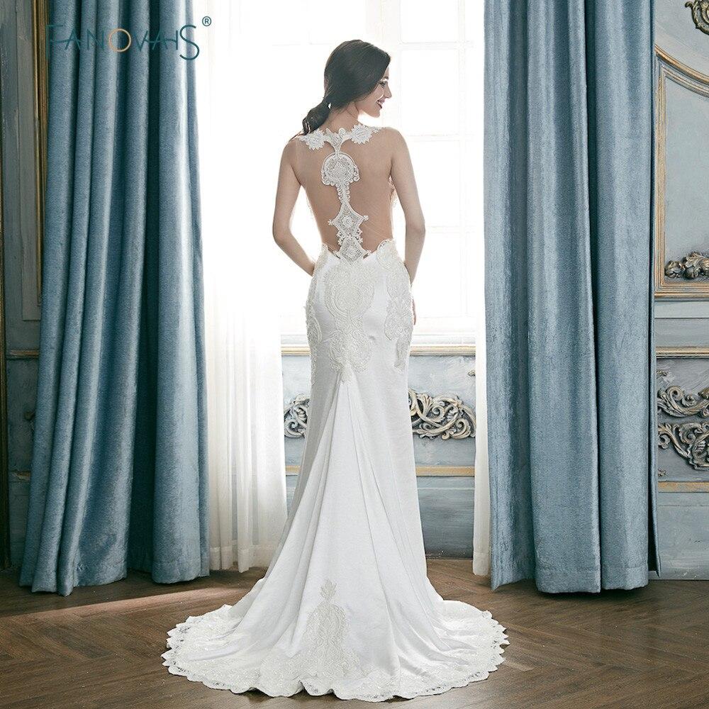 Gorgeous Mermaid Wedding Dresses 2018 Sweetheart Ivory
