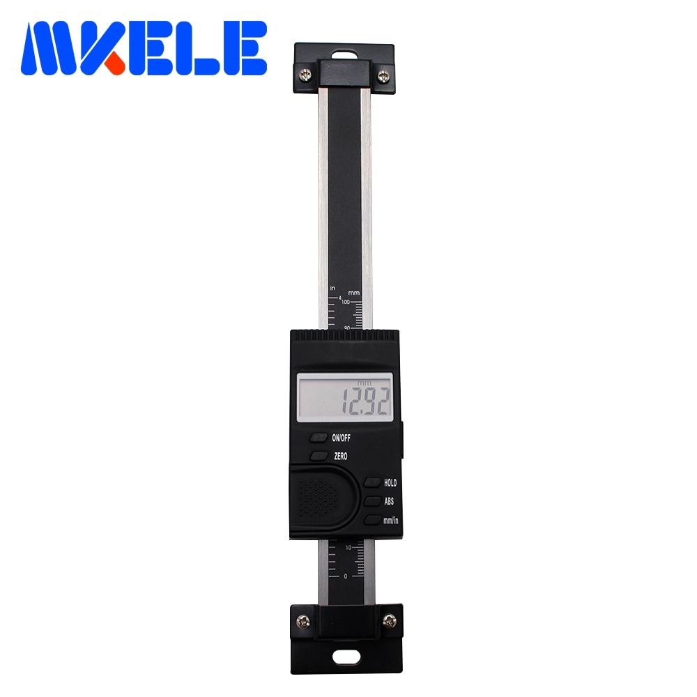 0 100mm Digital Scale Vertical Aluminum Alloy Digital Scale Linear Measure Digital Linear Scale Of Milling High Accuracy
