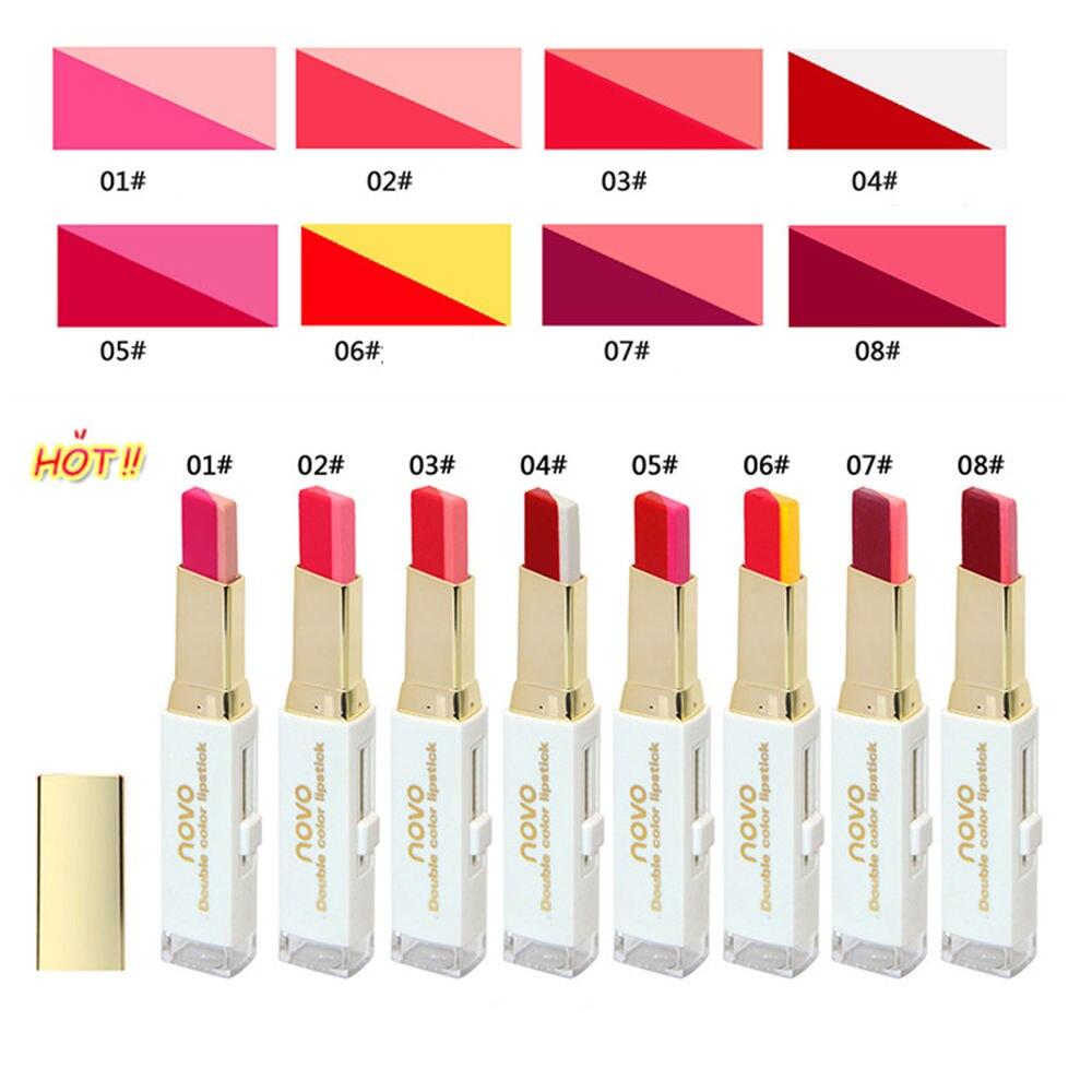 ผลการค้นหารูปภาพสำหรับ novo double color lipstick