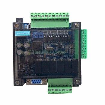 LE3U FX3U 14MR 6AD 2DA RS485 8 entrada 6 salida relé 6 Entrada analógica, 2 analógicos (0-10 v) salida del controlador plc RTC (reloj de tiempo real)