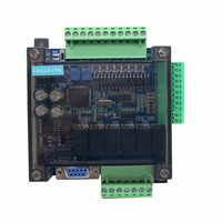 LE3U FX3U 14MR 6AD 2DA RS485 8 input 6 relay output 6 analog input 2 analog (0 10V) output plc controller RTC (real time clock)