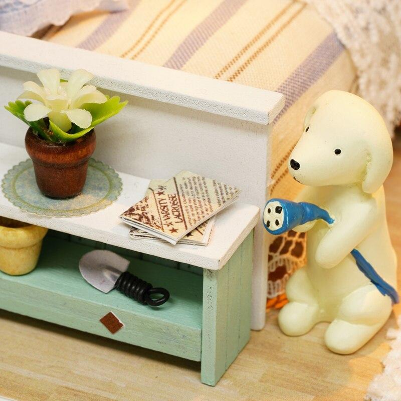 Casas de Boneca miniatura de móveis casa de Modelo Número : Doll House