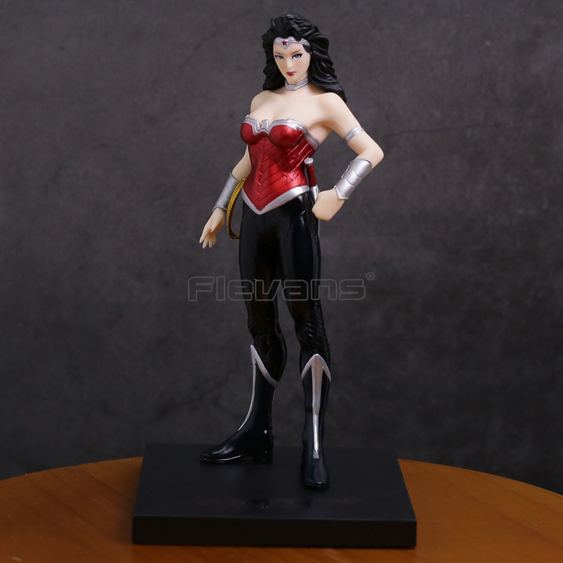 DC COMICS ARTFX + Статуя Wonder Woman 1/10 Масштаб ПВХ Рисунок Коллекционная модель игрушки