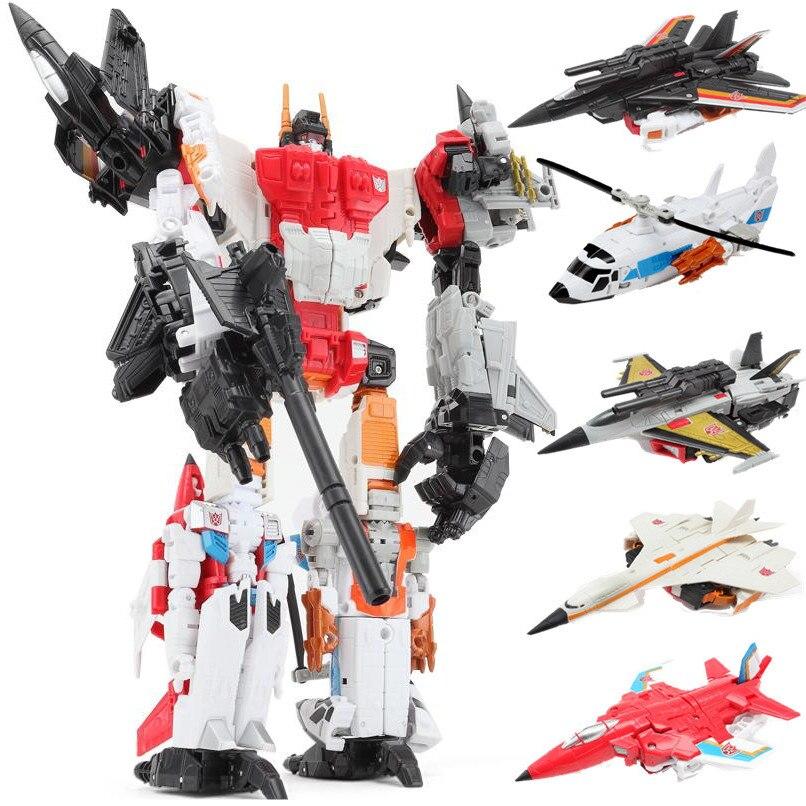 High-quality 25cm Transformation 5 in 1 ko new desigh Bruticus figure toys