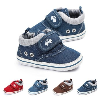 Newborn Baby Boys Fashion Canvas Soft Sole Infant Shoe New born Baby Boy Casual Toddler Kid Girls First Walkers Shoes 1