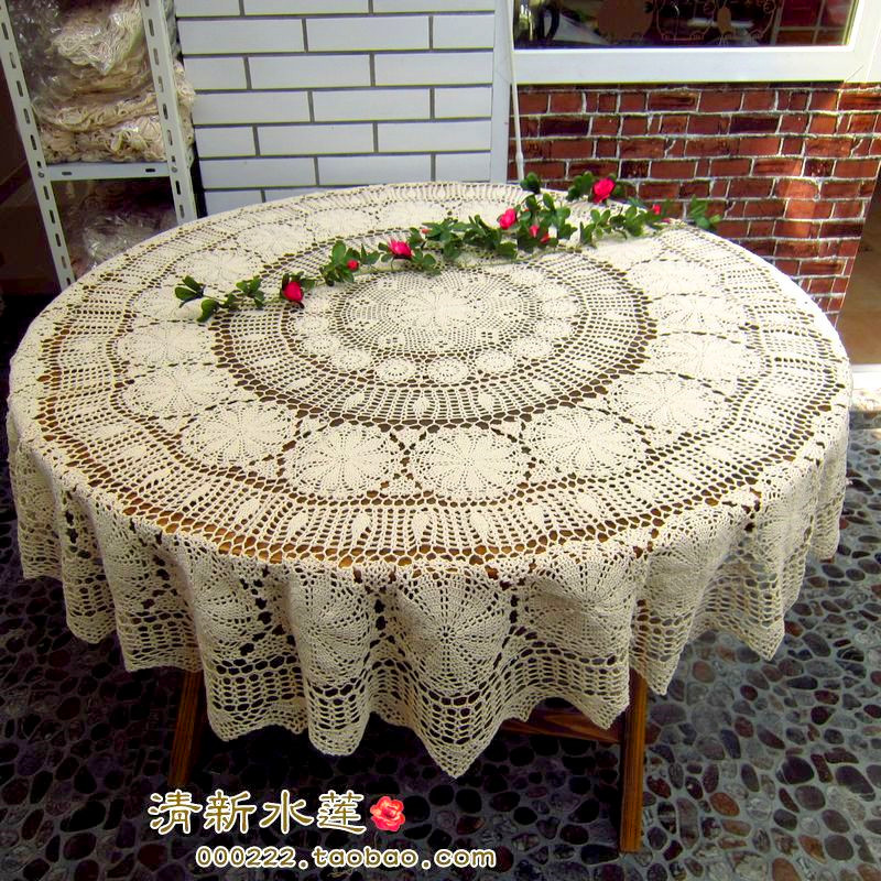 2018 new ZAKKA fashion cotton lace tablecloths cover for ding table cutout fabric table cover for