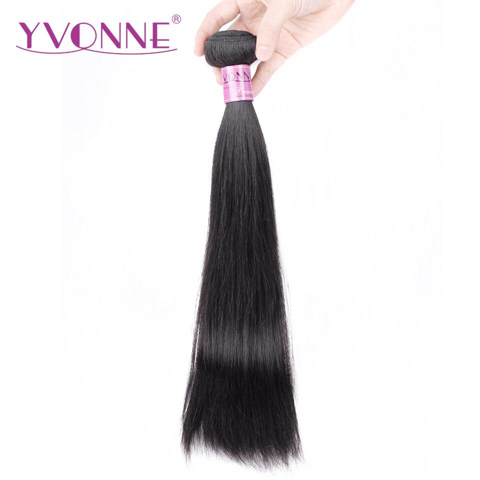 Yvonne Brésilien Droite Armure de Cheveux 100% Remy de Cheveux Humains Bundles Naturel Couleur Gratuite Livraison