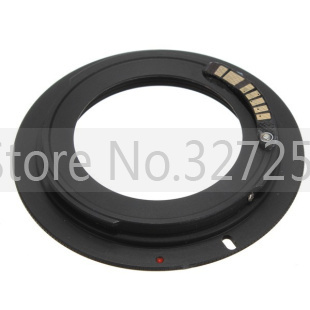 Electronic AF Confirm M42 Mount Lens Adapter for Canon EOS 5D 7D 60D 50D 40D 500D 550D 600D Rebel T2i T3i 1100D (M42-E0S)