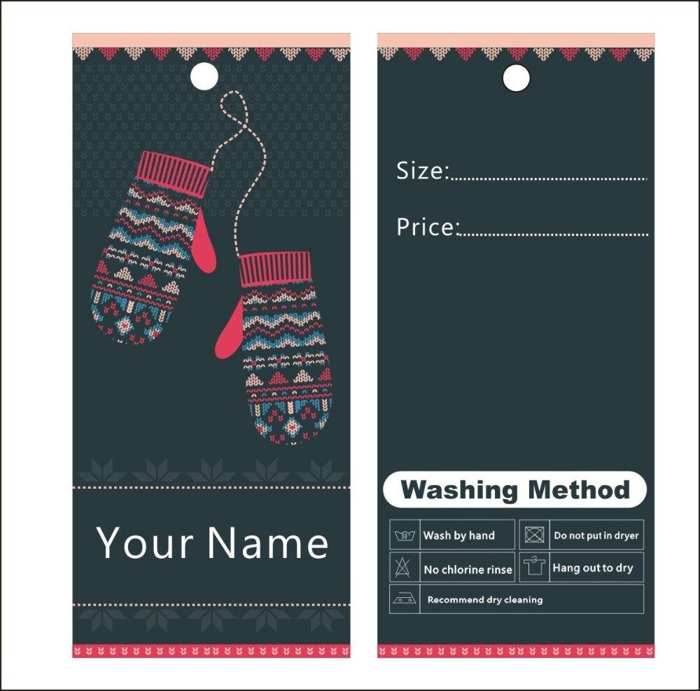 500 pcs custom cetak gantung harga label template 010 pakaian kemasan label umum dapat mengubah teks warna untuk anda di tag garmen dari rumah taman