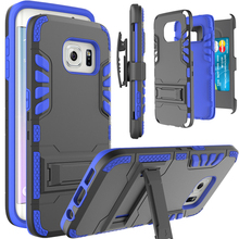 Belt Clip Case For Samsung Galaxy S7 S8 Plus,Heavy Hybrid Armor Card Slot Shockproof Case Cover for Galaxy S8 S8 Plus S7 S7 edge