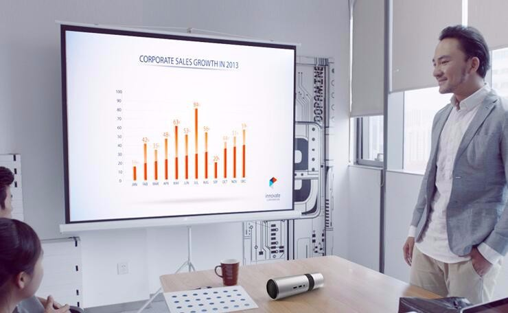 DLP intelligent projecteur Mini 7