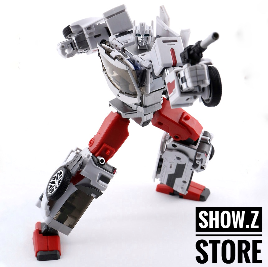 [Show.Z Store] Generation Toy GT Guardian GT-08A Sergeant Defensor Streetwise Transformation Action Figure