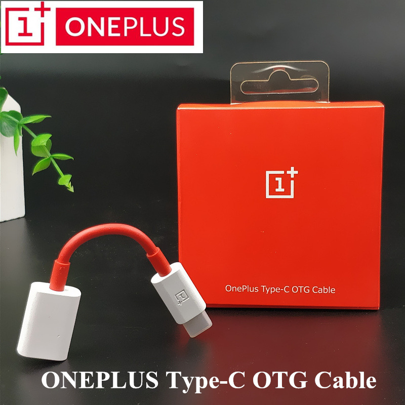 Original Oneplus 6 Dash Type C Otg Cable 4a Usb 3 1 One