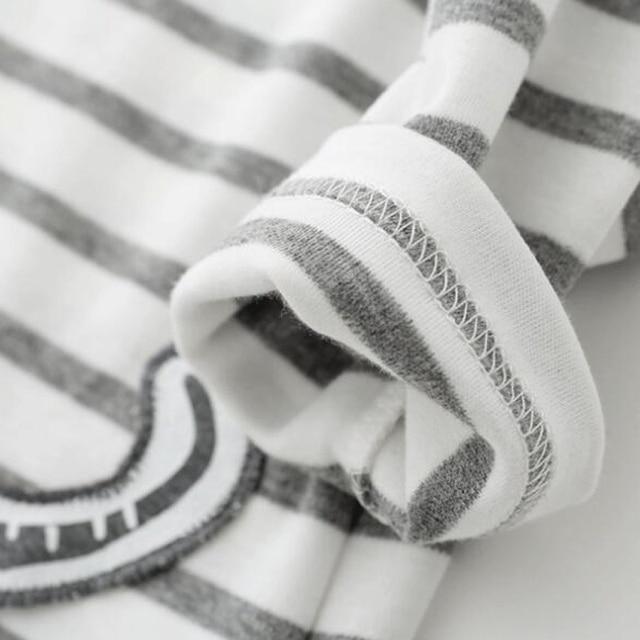 Baby Clothing Sets - Elephant Print - Long Sleeve T-shirt + Trousers