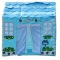 Ребенок Подарок Синий Мальчик Дети Играть Дома Палатки Игра Дома Дети Играют Палатки Дети Палатки D366