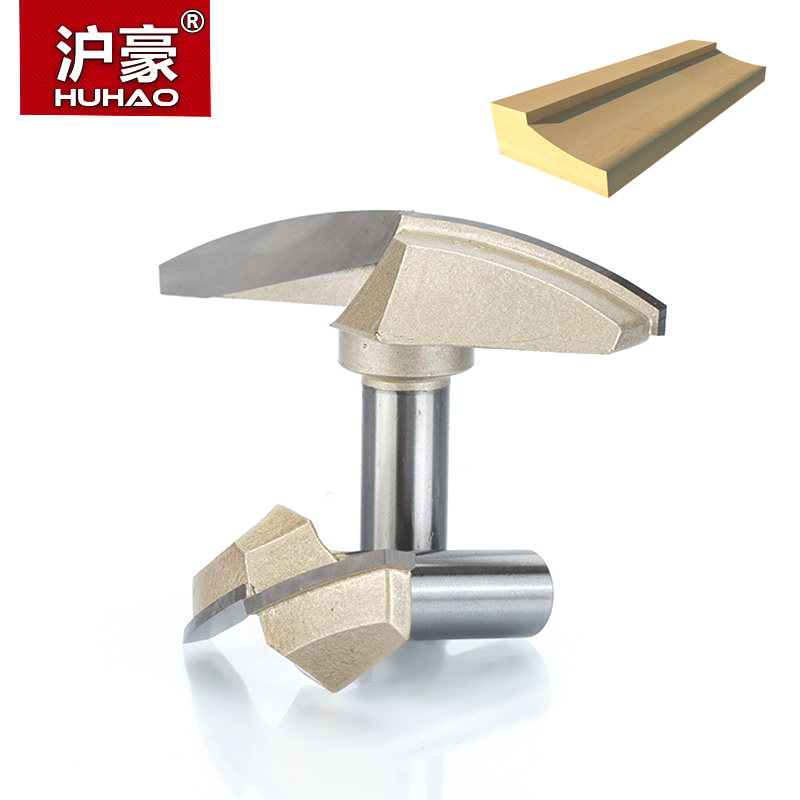 HUHAO 1pcs 1/2 Shank Classical Plunge Bit CNC Woodworking Tools two Flute Router Bits for wood cutting the wood router tool high grade carbide alloy 1 2 shank 2 1 4 dia bottom cleaning router bit woodworking milling cutter for mdf wood 55mm mayitr