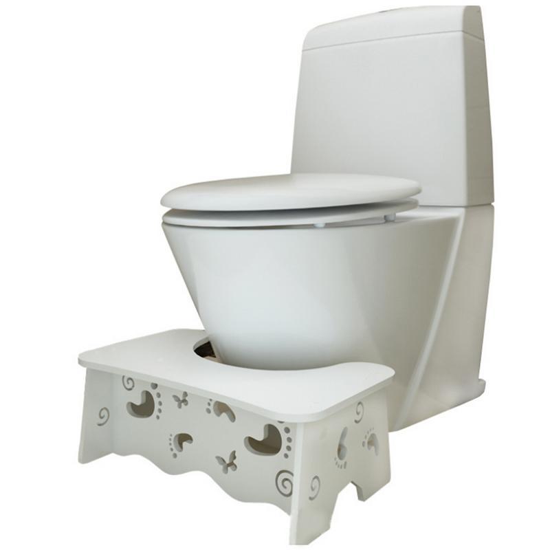Toilet Footstool Waterproof Formaldehyde-Free Odor - Free Footstool Toilet Footstool Waterproof Formaldehyde-Free Odor - Free Footstool