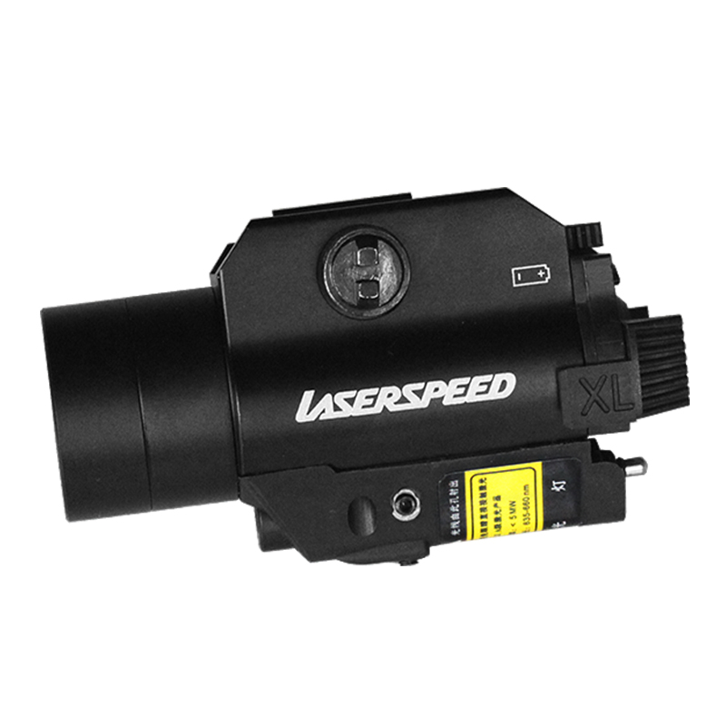 Acecare Promotion Hot Drop shipping LS CL2 R Red Beam Laser Sight And Tactical Flashlight Combo for Pistol with Strobe Light in Riflescopes from Sports Entertainment