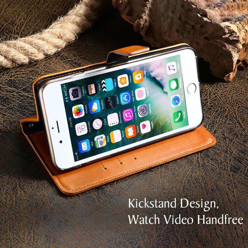 AKABEILA из искусственной кожи чехол для LG Q8 2018 Чехол Флип Бумажник Чехлы для LG Q Stylus плюс Q Stylo 4 Чехол Коке Ретро Бизнес сумки