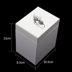 Image 2 - 5 Layers Lashes Display Stand Organizer Box False Eyelashes Glue Pallet Eyelash Extension Makeup Tool Eyelash Storage Box 534g