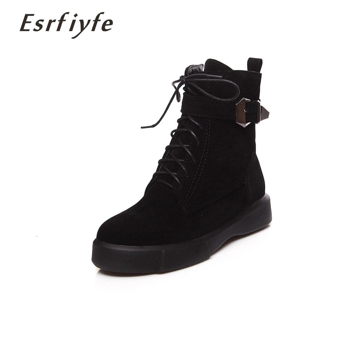 ae3a19d50c1f Apricot Troupeau Nouvelles Zapatos Cheville Peluche Martin Sneakers vert Femme  Chaussures Femmes Chaud Courtes Neige Mujer noir Esrfiyfe 2018 ...