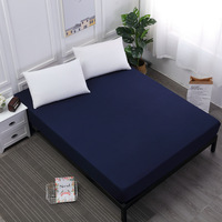 bedding linens bed sheet on elastic fitted sheet Mattress Cover rubber elastic