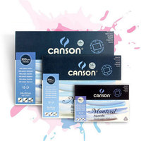 French Canson Water soluble Book Paper For Drawing Painting Watercolor Painting Book Art Supplies