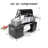 12V 150PSI Vehicle mounted pump Tire inflation Double cylinder pump car air compressor