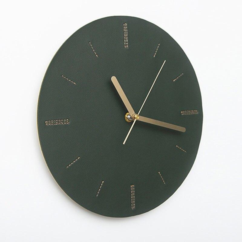 Nordic Art Mute Antique Wall Clock Creative Living Room Bedroom Wall Clock Modern Minimalist Klok Wall Watches Home Decor 50w036