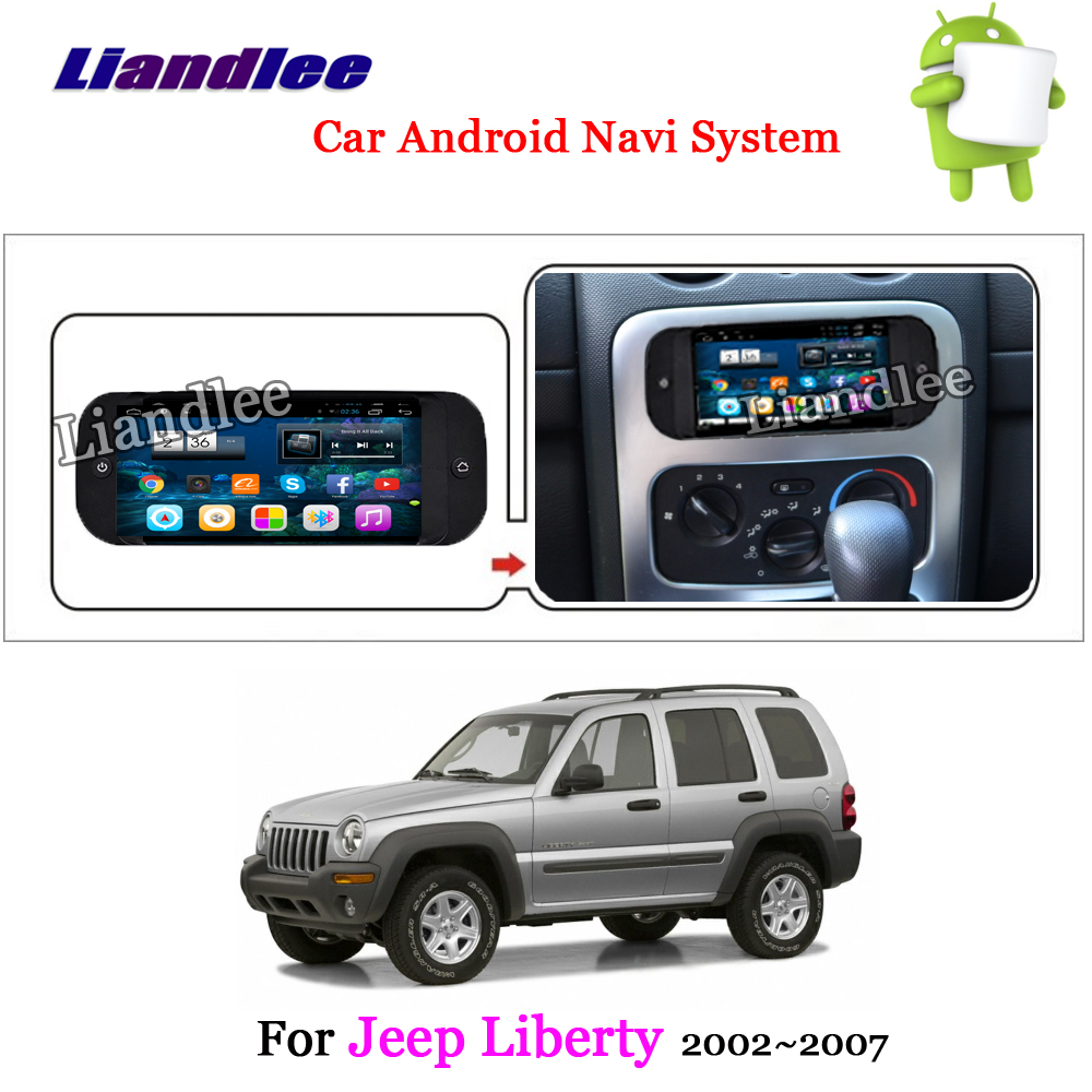 Liberty Jeeps: Liandlee Car Android System For Jeep Liberty 2002~2007