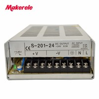 Single Output Switching power supply for LED Strip light AC-DC high quality safe standards nice quality 200W 24..V 8.3..A