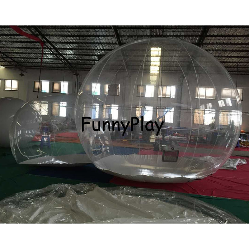 Outdoor Transparent Inflatable Bubble Tent, Clear Camping Tents, Crystal Bubble Tents,commercial Inflatable Trade Show Room inflatable coffee rest room inflatable family camping bubble tent the event struct house dome outdoor clear show tent for photo