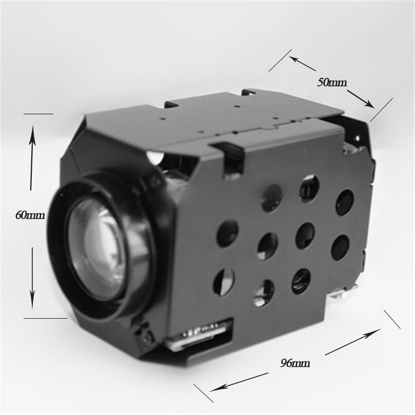 H.265 4MP 1080P IP PTZ Network Camera Module 33X Optical Zoom 4.6-152mm Lens RS485/RS232 Support PELCO-D/PELCO-P Onvif Camara